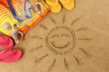 Beach holidays are good for you... official