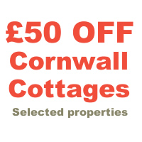 £50 OFF selected Cornwall Properties