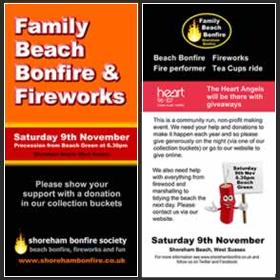 Shoreham Bonfire 2013