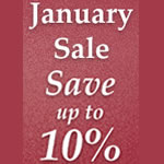 January sales for self catering holidays